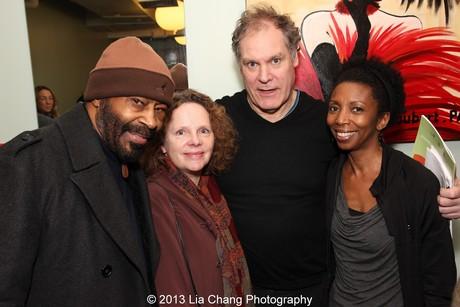 Anthony Chisholm, Marianne Plunkett, Jay O. Sanders and Sharon Washington. Photo by Lia Chang