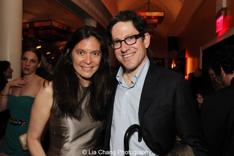 Diane Paulus and her husband Randy Weiner. Photo by Lia Chang