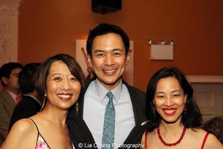 Jeanne Sakata, Joel de la Fuente and Lia Chang. Photo by Tim Patterson