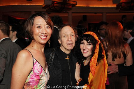 Jeanne Sakata, Scott and Barbara Siegel. Photo by Lia Chang