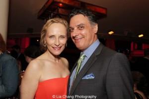 Laila Robins and Robert Cuccioli. Photo by Lia Chang