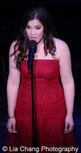 Dogfight's Lindsay Mendez. Photo by Lia Chang