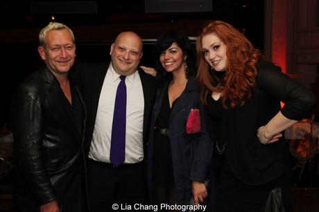 Michael John LaChuisa, Isaac Robert Hurwitz, Isabel Santiago and Katie Thompson. Photo by Lia Chang