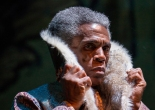 André de Shields (Akela) in Tony Award winner Mary Zimmerman's new musical adaption of The Jungle Book. Photo by Liz Lauren