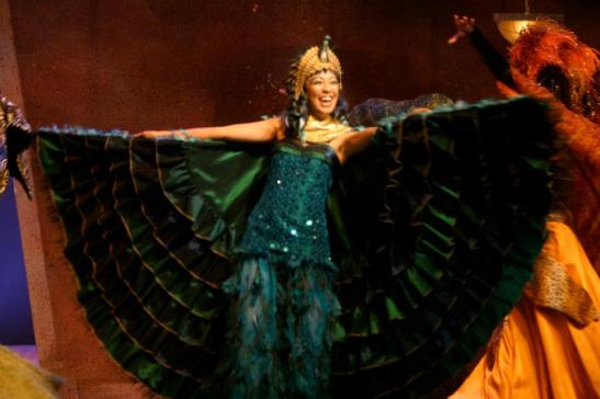 Jaygee Macapugay as Amneris in Aida