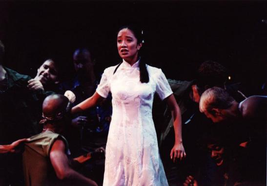 Jaygee Macapugay as Kim in Miss Saigon