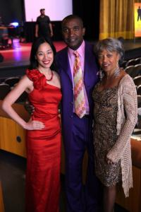 Lia Chang, Louis Price and Fay Hauser Price at the 25th annual James Stephens III Scholarship Foundation Gala at the Francis Marion University Performing Arts Center in Florence, SC on May 4, 2013.