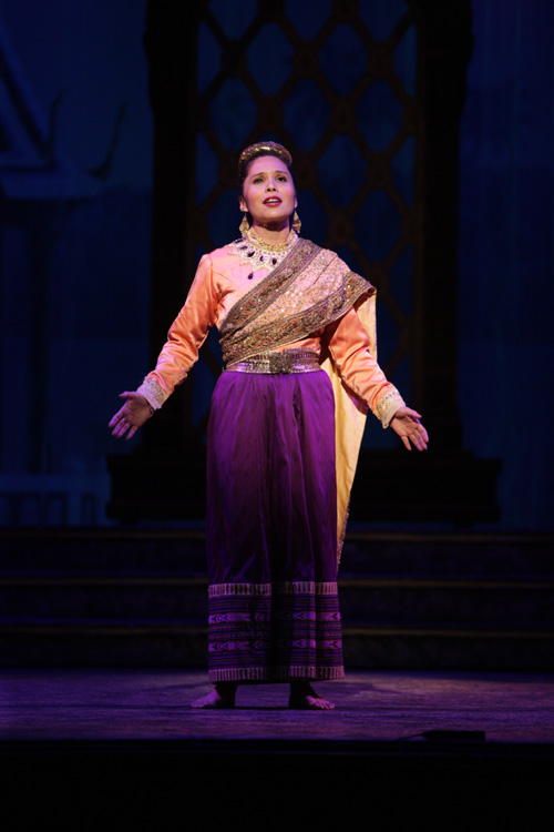 Tami Swartz as Lady Thiang. Photo by Christopher Clark, Music Theatre of Wichita