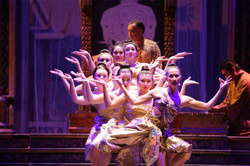 The cast of The King and I. Photo by Christopher Clark, Music Theatre of Wichita