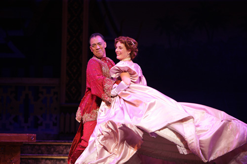 Thom Sesma and Kim Huber. Photo by Christopher Clark, Music Theatre of Wichita