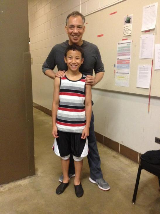 Timothy T.V. Cao and Thom Sesma. Photo by Lia Chang