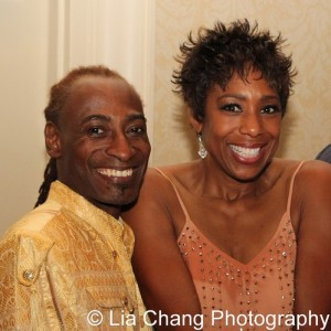 Patrice Andrew Davidson and Dawnn Lewis. Photo by Lia Chang