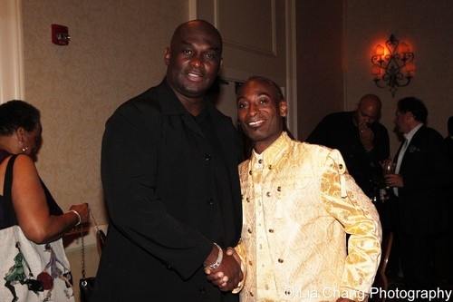 Tommy Ford and Patrice Andrew Davidson. Photo by Lia Chang