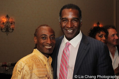 Patrice Andrew Davidson and Norm Lewis. Photo by Lia Chang
