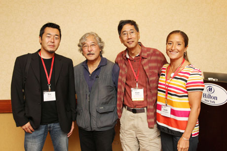 Special thanks to Dai Sugano, Michael Yamashita, Stan Honda and Sachi Cunningham for the great sessions geared toward photographers and visual journalists. Photo by Lia Chang