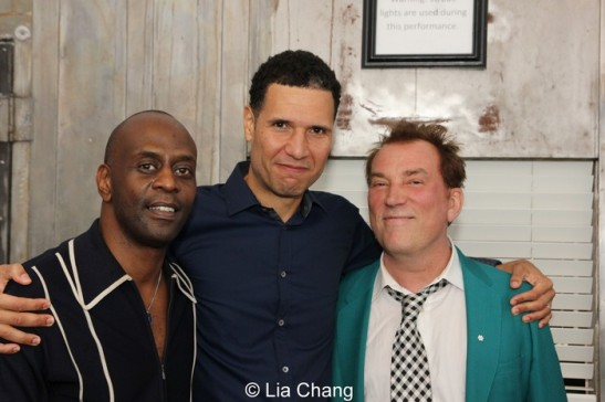 K. Todd Freeman, Will Power and Des McAnuff. Photo by Lia Chang