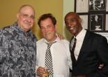 Richard Masur, Des McAnuff and John Earl Jelks. Photo by Lia Chang