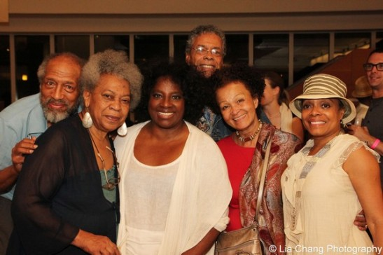 Arthur French, Novella Nelson, LaTanya Richardson Jackson, Charles Turner, Lizan Mitchell and Denise Burse. Photo by Lia Chang