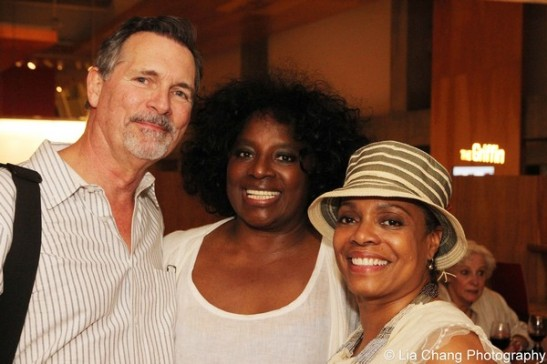 Cotter Smith, LaTanya Richardson Jackson and Denise Burse. Photo by Lia Chang