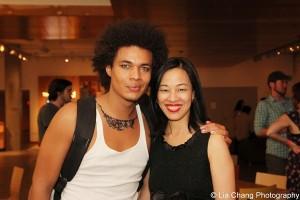 Ismael Cruz and Lia Chang