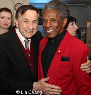 Richard M. Sherman and André De Shields. Photo by Lia Chang