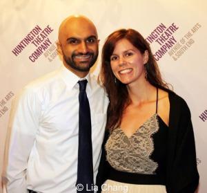 Usman Ally (Bagheera) and his wife Malena Mai. Photo by Lia Chang