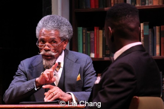 André De Shields and Sean Phillips. Photo by Lia Chang