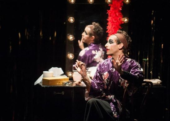 Brandon Uranowitz as Arnold in The Studio Theatre's revival of Torch Song Trilogy. Photo by Teddy Wolff