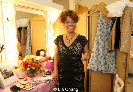 Denise Burse in her dressing room at Center Stage in Baltimore on October 16, 2013. Photo by Lia Chang