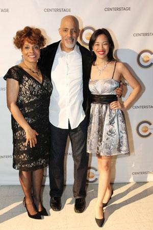 Denise Burse, Michael Genet, Lia Chang.