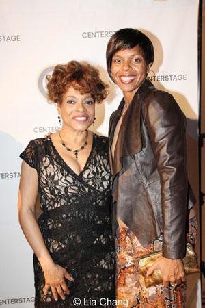 Denise Burse and Sakina Ansari-Wilson. Photo by Lia Chang