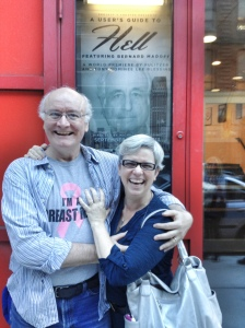 Actor Edward Hyland and his wife Melissa Canaday. Photo by Lia Chang