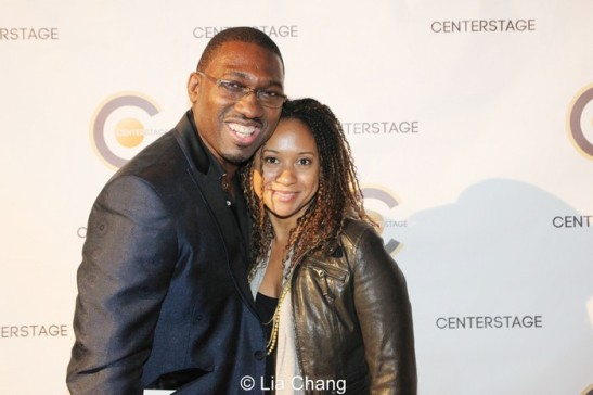 Kwame Kwei-Armah, Tracie Thoms. Photo by Lia Chang