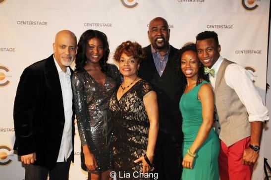 Michael Genet, Jasmine Carmichael, Denise Burse, Doug Eskew, chandra thomas, Sheldon Best. Photo by Lia Chang