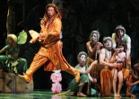 Anjali Bhimani, André De Shields, NIkka Graff Lanzarone, Monique Haley, Geoff Packard, Akash Chopra, Ed Kross and Govind Kumar in The Jungle Book at The Huntington Theatre in Boston on September 5, 2013. Photo by Lia Chang