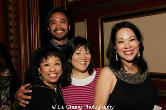 Baayork Lee, Jose Llana, Ann Harada and Christine Toy Johnson. Photo by Lia Chang