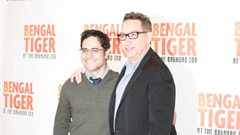 Bengal Tiger director Moises Kaufman and writer Rajiv Joseph. Photo courtesy of Independent Lens