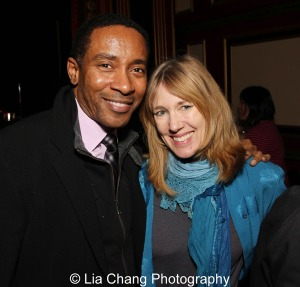 Charles Randolph-Wright and Dodie Pettit. Photo by Lia Chang