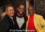 Chay Yew, Branden Jacobs_Jenkins and André De Shields. Photo by Lia Chang