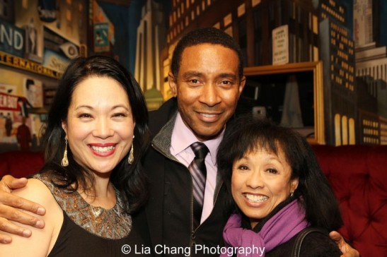 Christine Toy Johnson, Charles Randolph_Wright and Baayork Lee. Photo by Lia Chang