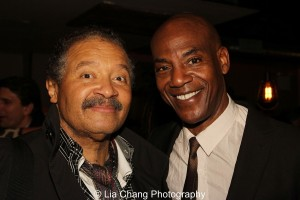 Count Stovall and John Earl Jelks. Photo by Lia Chang