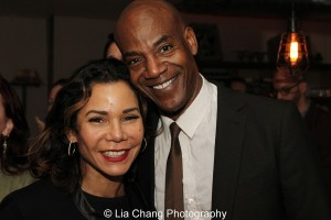 Daphne Rubin-Vega and John Earl Jelks. Photo by Lia Chang