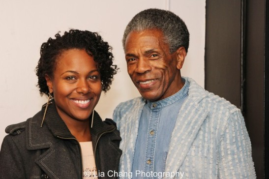 DeWanda Wise and André De Shields. Photo by Lia Chang