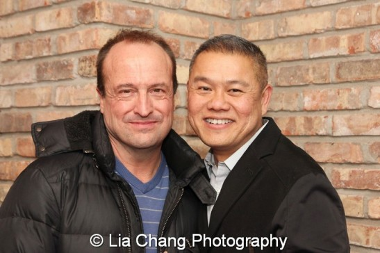 Appropriate director Gary Griffin and Chay Yew, Artistic Director, Victory Gardens. Photo by Lia Chang