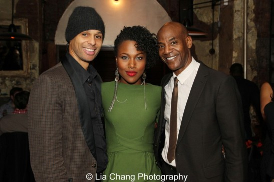 Harvey Gardner Moore, DeWanda Wise and John Earl Jelks. Photo by Lia Chang