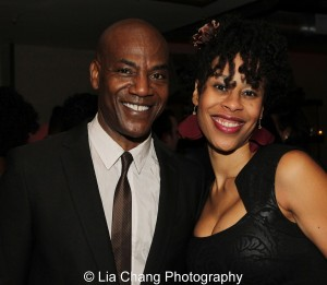 John Earl Jelks and Dominique Morisseau. Photo by Lia Chang