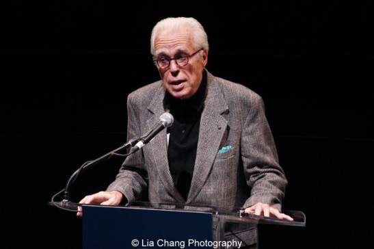 Playwright John Guare. Photo by Lia Chang