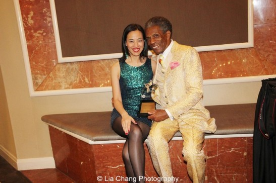 Lia Chang and André De Shields.