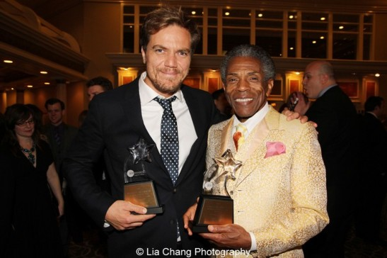 Jeff Award winners Michael Shannon and André De Shields. Photo by Lia Chang