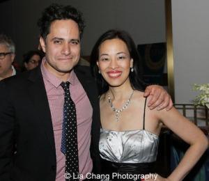 Rajiv Joseph and Lia Chang